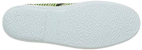 Victoria Ingles Geometrico Lurex - Zapatillas de deporte Unisex adulto Verde - Vert (58 Lima)