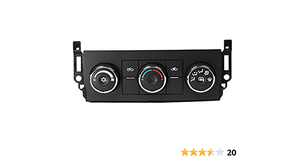 ACDelco 15-74771 GM Original Equipment Heating and Air Conditioning Control Panel