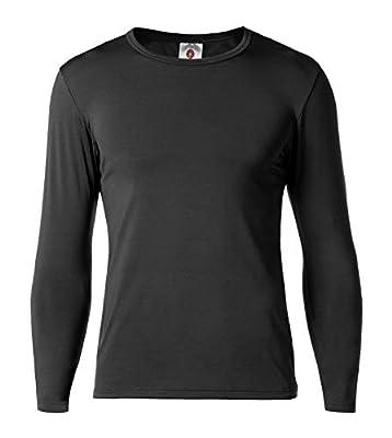 LAPASA Men's Thermal Underwear Tops Fleece Lined Base Layer Long Sleeve Shirts M09