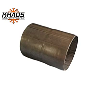 """3"""" ID to 3"""" ID Universal Exhaust Pipe to Pipe Coupling Coupler Joiner Connector 304 Stainless Khaos Motorsports: Automotive"""