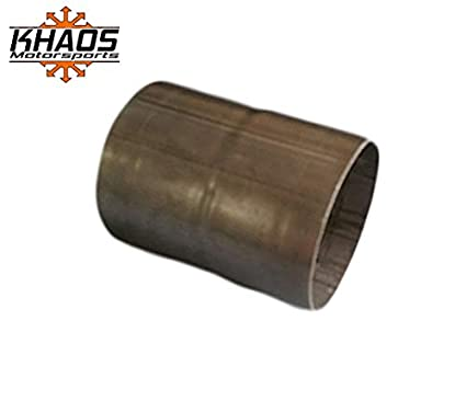 """3"""" ID to 3"""" ID Universal Exhaust Pipe to Pipe Coupling Connector 304 Stainless"""