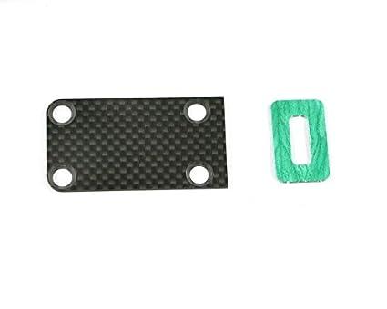 Amazon com: Serpent Skid Plate Carbon SRX8: Toys & Games