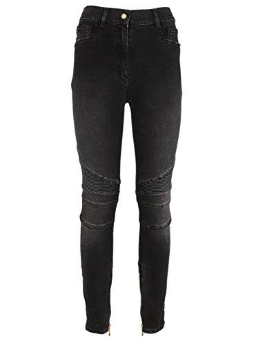 105593118KC4715 Jeans Coton Balmain Femme Gris wzx48BSq