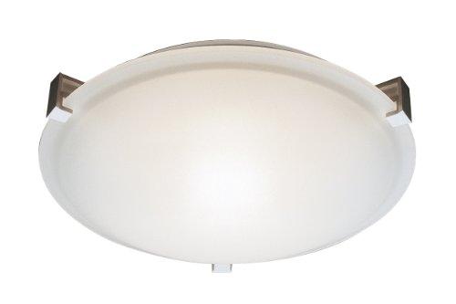 Trans Globe Lighting PL-59007 BN Indoor Neptune 15 Flushmount, Brushed Nickel