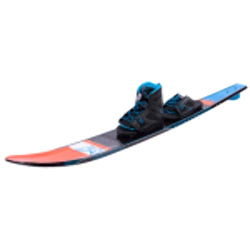 Ho Freeride Evo Slalom Waterski with Free-Max Binding and Rear Toe Plate -