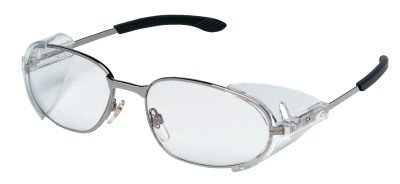 RT2® Protective Eyewear - cr r2120 clear/chrome - Sides Eyewear