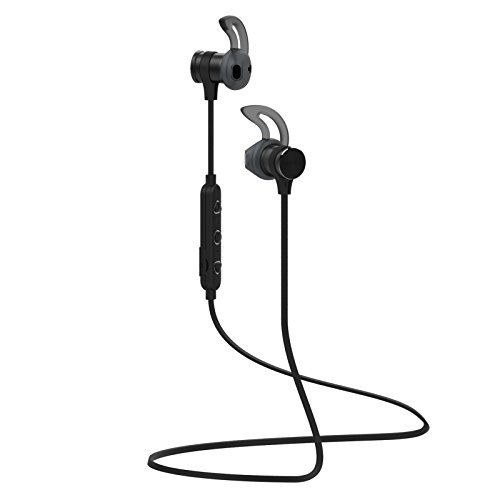 Bluetooth Headphone, Bonmixc Sport Wireless Earphone, IPX7 Waterproof Wireless Earbuds with Built-in Mic Up to 8 Hrs Playback Noise Cancelling Headsets