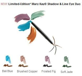 Mary Kay Shadow & Line Eye Duo ~ Eye Color Eyeliner Duo ~ Soft Jade ~ Full Size New in Box