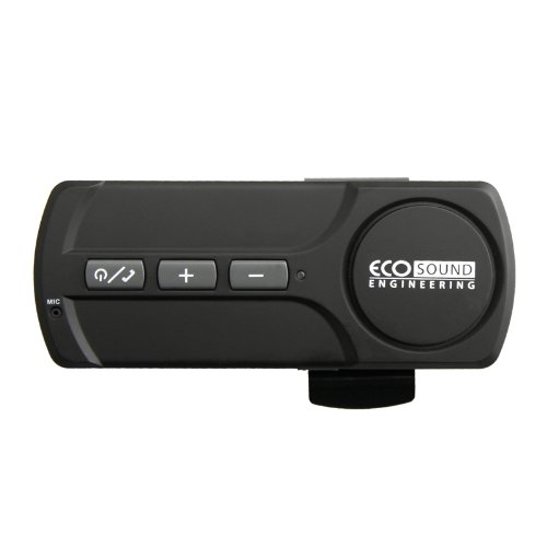 ECO Sound Engineering Bluetooth Handsfree Speakerphone Car Kit for all Cell Phone Brands and Models