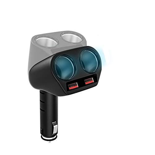 Rytaki KFZ Ladegerät 3.0 Schnelllader Autoladegerät Dual USB Autoladeadapter. 2 Zigarettenanzünder Splitter 12V/24V…