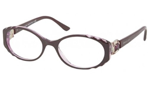 Eyeglasses Bvlgari BV4054B 5112 TOP VIOLET ON TRANSPAR DEMO LENS