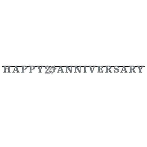 Prismatic Letter (Sparkling SIlver 25th Anniversary Prismatic Letter)