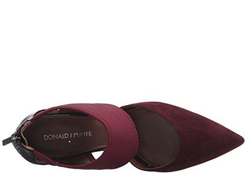 Pumps Pliner Pointed J Womens Leather Toe Donald Classic Merlot Karis TaxHnw8