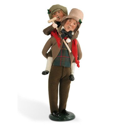 Byers Choice Bob Cratchit And Tiny Tim
