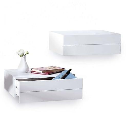 Kasandria® Wandkonsole d\'Anoia Weiß | Designer Regal | Wandregal ...