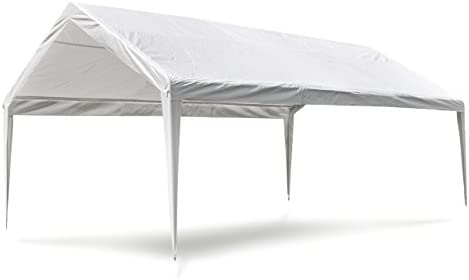 vidaXL Dach für Partyzelt Zelt 3x6m Weiß Ersatzdach Dachplane Pavillondach