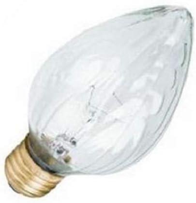Quantity 18 GE 44540 110W Saf-T-Gard Shatter Resistant Flame Shape Post Bulbs