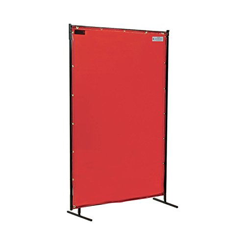 Steiner Industries 348-4X6 Welding Curtain, 6' Width, 4' Height, Orange by STEINER INDUSTRIES