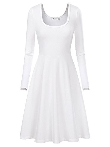 Long white dresses amazon