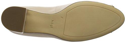 Puder Zapatos Tacón Högl 4800 4080 Beige 5 de para 10 Mujer wqSagH
