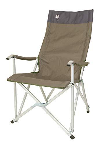 Coleman Vouwstoel Sling Chair met aluminium frame om te relaxen, campingstoel met armleuningen en hoge rugleuning…