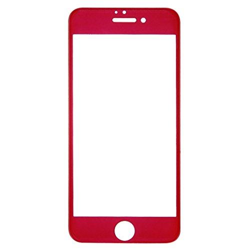 Tuff-Luv Radian 2.5D gehärteter Tuff-Glas Überzug für iPhone 7 Plus - Rot