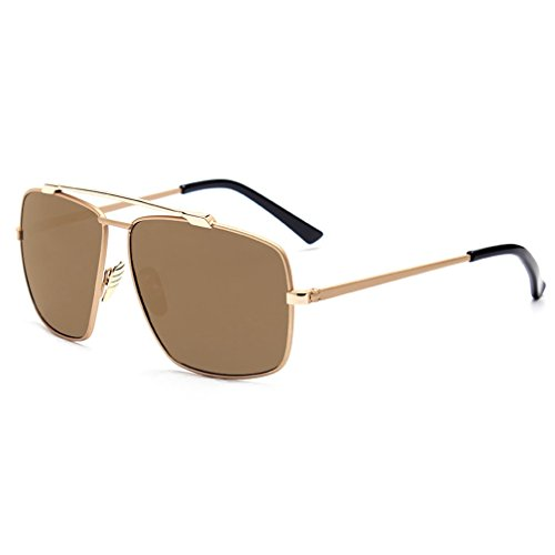 (A-Royal High-Grade Mens Colorful Fashion Retro Cycling Warfarer sunglasses(C2) )