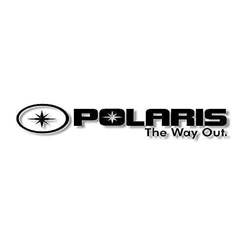 Polaris the way out 30 vinyl decal rzr sportsman 500 ranger atv snowmobile trailer sticker black