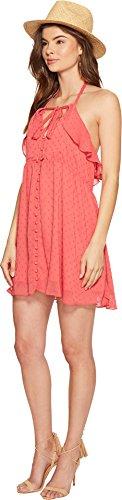 For Love & Lemons Women's Tarta Tank Dress, Flamingo, L by For Love & Lemons (Image #1)