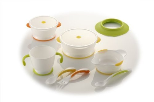 Richell Try series baby tableware set UF-3 by Ritschel (Image #8)