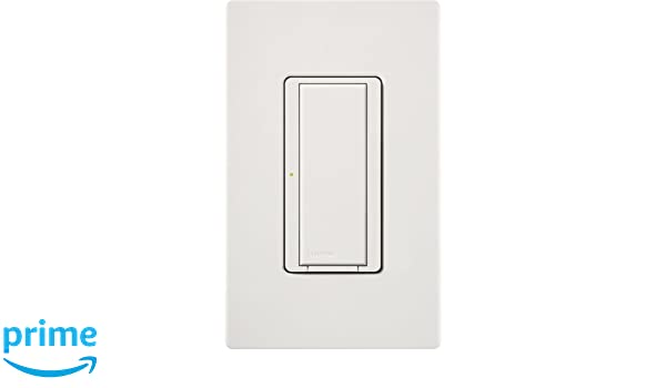 Lutron MRF2-8ANS-120-WH, Single Pole Preset Switch Light Switch, White - Wall Dimmer Switches - Amazon.com