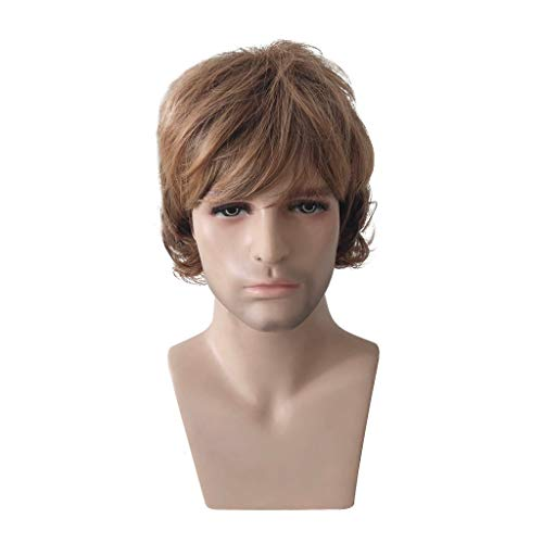 US shipment Clearance Role Playing Wig Heat Resistant Synthetic Hair Boy Full Anime Hair Party Wig by USLovee3000