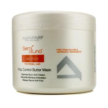 AlfaParf Semi Di Lino Discipline Frizz Control Butter Mask (For Rebel Hair) 500ml/17.28oz by AlfaParf