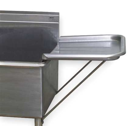 Drainboard Detachable For Utility Sinks