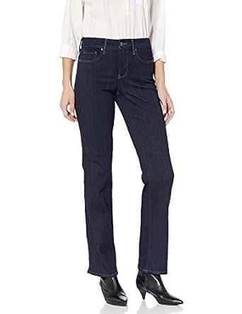 NYDJ Women's Marilyn Straight Leg Jeans in Sure Stretch Denim, Mabel, 0
