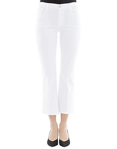 JBrand Femme 8314C028WHITE Blanc Coton Jeans