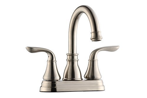 Two Handle Bathroom Stainless Steel Faucets Price Compare