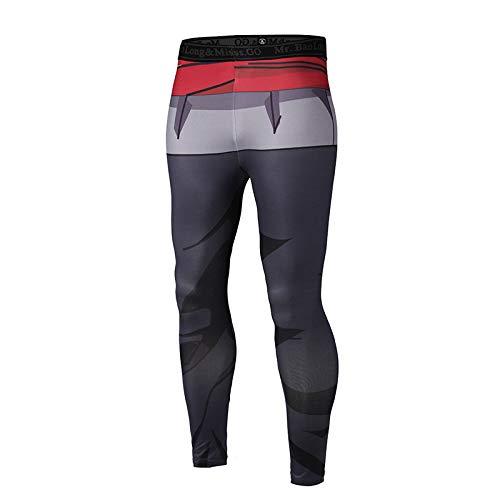 MAOYYMYJK Yoga-Hose Für Damen 3D-Druck Männer Und Frauen Schlanke Sporthosen Yoga Schnell Trocknende Hosen Elastische Bodybuildinghosen Fitnesshosen