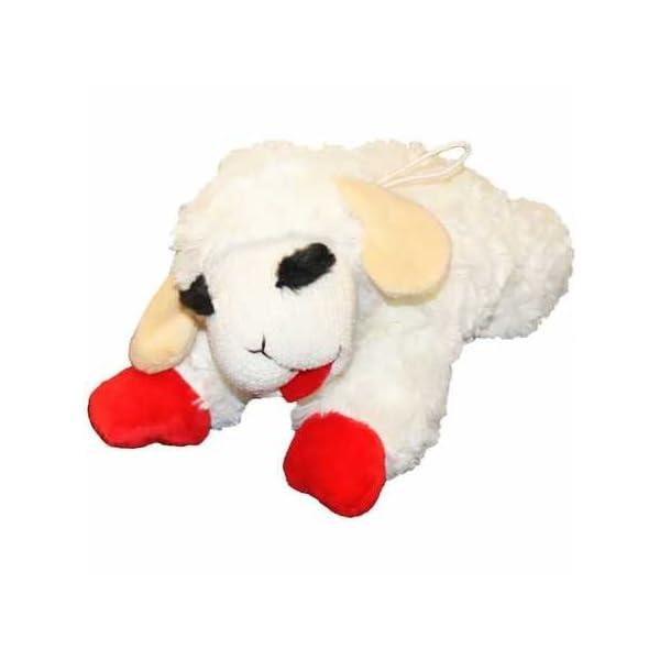 Multipet Lamb Chop Dog Toy 10″