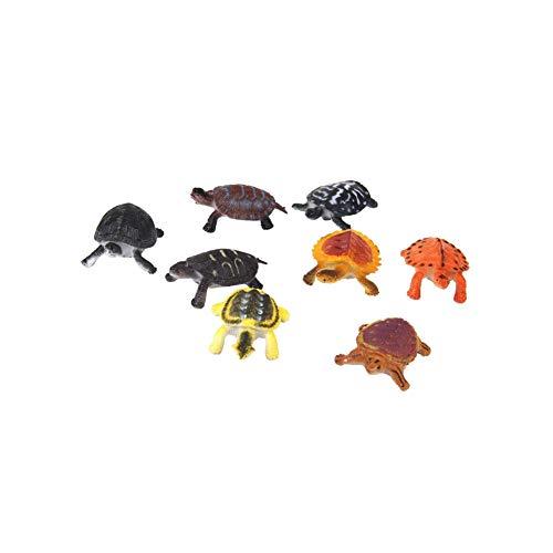 8pcs Assorted Plastic Tortoise Multi Usage Turtle Miniature Figurines Durable Model Tortoise Toys for Kids