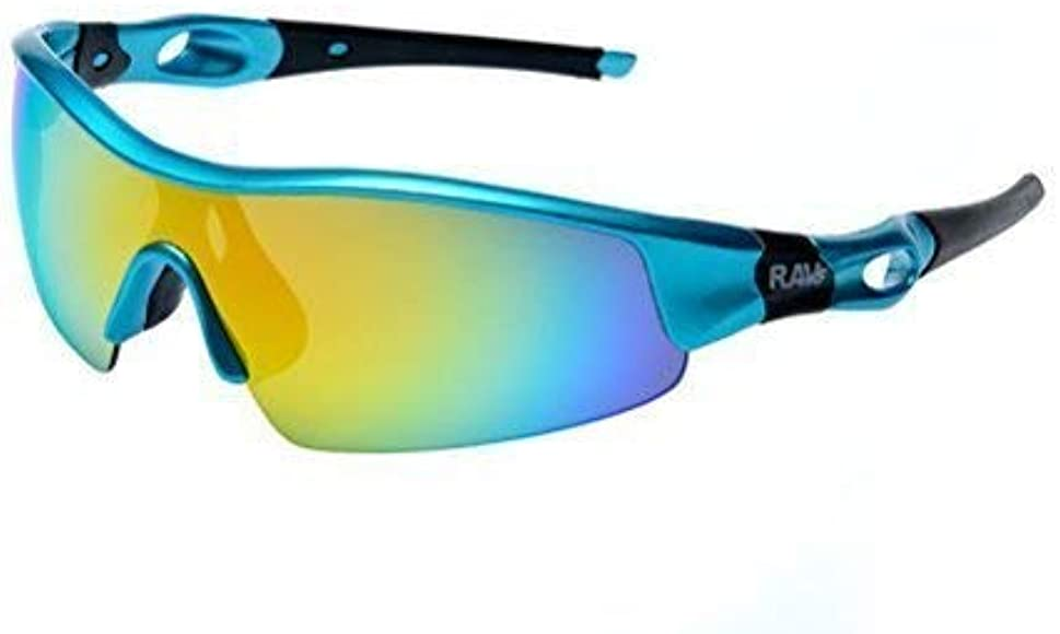 RAVS Ciclismo - Triatlón - Playa Volleyball- Gafas de Bicicleta - Gafas - Gafas Super Flash: Amazon.es: Ropa y accesorios