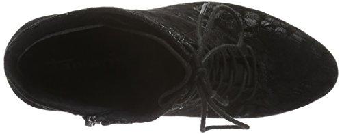 Tamaris 25101 - Botines para mujer Negro (Black Struct. 006)