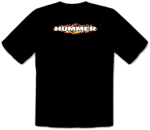 Hummer Jeep Auto Fun Schwarze T-Shirt -521