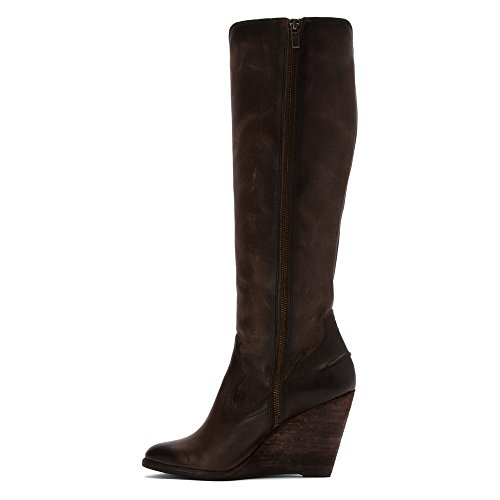 f697b53c6a0 Frye Women s Cece Seam Tall Slate Washed Antique Pull Up Boot   Amazon.co.uk  Shoes   Bags