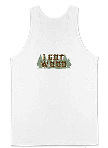 Pop Threads I Got Wood Halloween Costume Drinking Zombie White XL Mens Tank Top]()