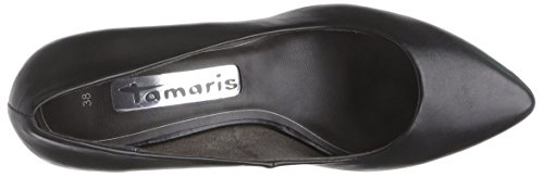 Noir Chaussures Noir du à Avant Tamaris Femme 22428 Couvert Pieds Talons zwWRU