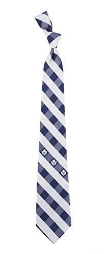 Toronto Maple Leafs Check Polyester Neck Tie NHL Hockey Team Logo