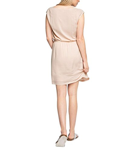 Esprit Tailliert E026, Vestido, Mujer Rosa (Light Pink 690)