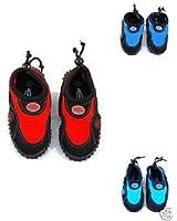 Blue Rush Boys Infants Beach Wetsuit Aqua Shoes
