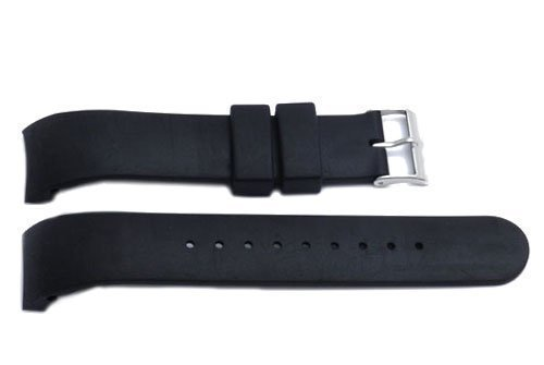 - Swiss Army Brand 21mm-Synthetic Strap-Black